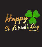 Happy St. Patrick's Day. Conceptual Creative Design Art of Happy St. Patrick's Day Background Stock Images
