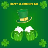 Happy St.Patrick Day Stock Photo