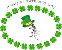 Happy St.Patrick Day Royalty Free Stock Images