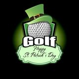 Happy St. Patrick day and Golf ball