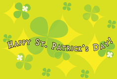 Happy St. Patrick's Day. Card Royalty Free Stock Images