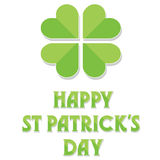 Happy St Patrick's Day Royalty Free Stock Images