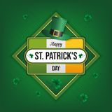 Happy st patrick`s day background vector illustration