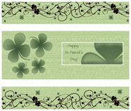 Happy st.patrick's day card Stock Photo