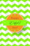 Happy St. Patrick's Day  card Royalty Free Stock Photos