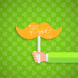 Happy St. Patrick's Day  card Stock Images