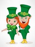 Happy St. Patricks Day celebration concept. Stock Image