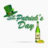 Happy St. Patricks Day celebration concept. Stock Photos
