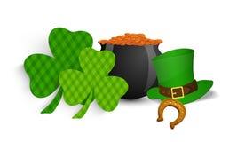 Happy St. Patricks Day celebration concept. Royalty Free Stock Photo
