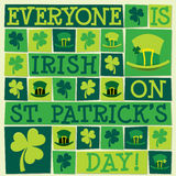 Happy St Patrick`s Day! Royalty Free Stock Photo
