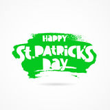 Happy St. Patrick`s Day. Gift card Royalty Free Stock Images
