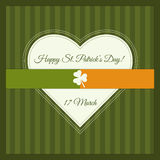 Happy St. Patrick`s Day Greeting Card / Poster Royalty Free Stock Photos