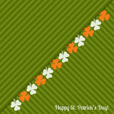 Happy St. Patrick`s Day Greeting Card / Poster Stock Photo