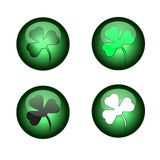 Happy St. Patrick's Day. Icons. Stock Image