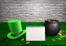 Happy St Patrick's Day. Royalty Free Stock Photography