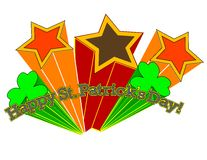 Happy St. Patrick's Day! Retro Style! Royalty Free Stock Photography