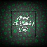 Happy st patrick`s day Stock Image