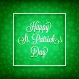 Happy st patrick`s day Stock Photos