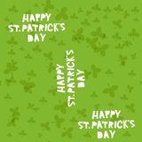 Happy St. Patrick's Day seamless pattern. Vector. Illustration Royalty Free Illustration