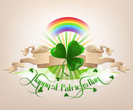 Happy st. Patrickes Day Stock Photography