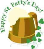 Happy St. Patricks Beer Stock Photo