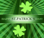 Happy st patricks day background Royalty Free Stock Photos