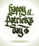 Happy st. patricks day card Royalty Free Stock Image