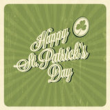 Happy St. Patricks Day card Royalty Free Stock Photo
