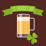 Happy St Patricks day card Royalty Free Stock Photography