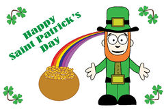 Happy St Patricks Day Greeting Stock Photos