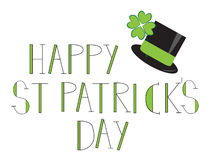 Happy St. Patricks Day. Happy Irish St. Patricks Day Stock Images