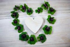 Happy st patricks day, luck clover Stock Photo