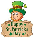 Happy St Patricks Day theme 4 Royalty Free Stock Image