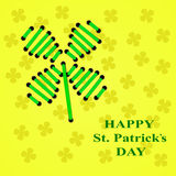 Happy St. Patricks Day. Vector Stock Photo
