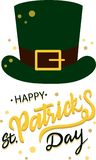 Happy St. Patricks day vector illustration