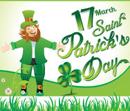Happy st patricks's day background Stock Image