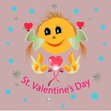 Happy St.Valentine's Day Stock Photography