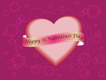 Happy St. Valentine`s Day Royalty Free Stock Photo