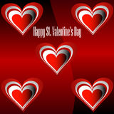 Happy St. Valentine's Day. Stock Image