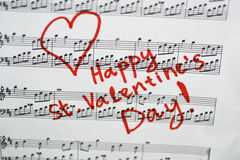 Happy st. Valentines day. Stock Photo