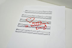 Happy st. Valentines day. Royalty Free Stock Images