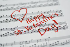 Happy st. Valentines day. Royalty Free Stock Photography