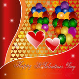 Happy St. Valentines Day. Stock Images