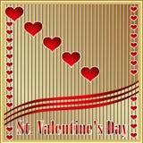 Happy St. Valentines Day. Royalty Free Stock Photos