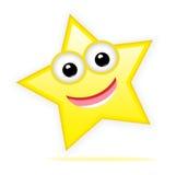 Happy star Royalty Free Stock Photo