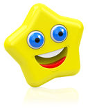 The happy star Royalty Free Stock Photo
