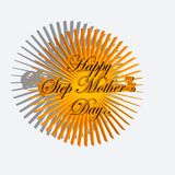Happy Step Mother's Day sun Stock Photos