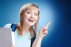 Happy student Royalty Free Stock Photo