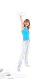 Happy student Stock Image