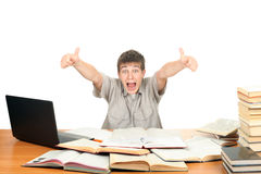 Happy Student royalty free stock photography
